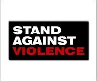 Stand Against Violence (SAV) logo