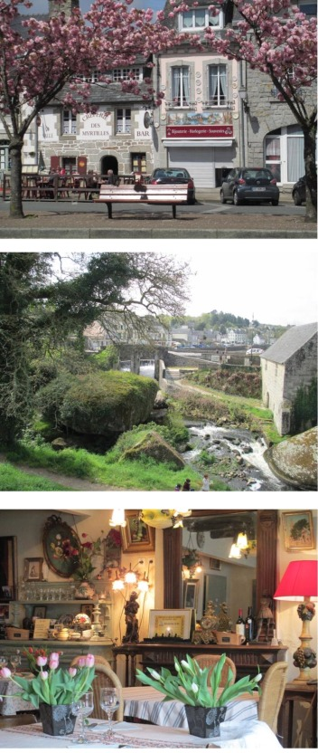 accommodation in france and town images