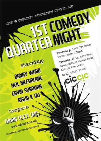 comedy nights with comedians poster