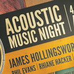 Acoustic Music Night Sat 30th Aug