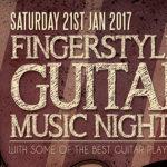 Fingerstyle Guitar Night Featuring SouthSet – Sat 21 Jan 2017