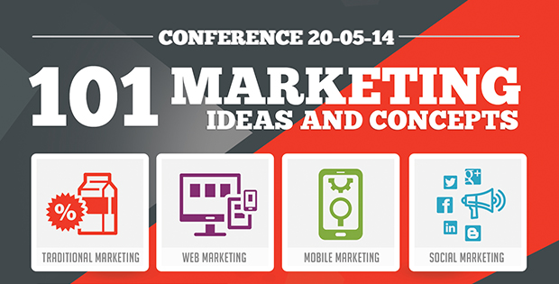 101 Marketing Ideas & Concepts Conference Plans Push For More Business