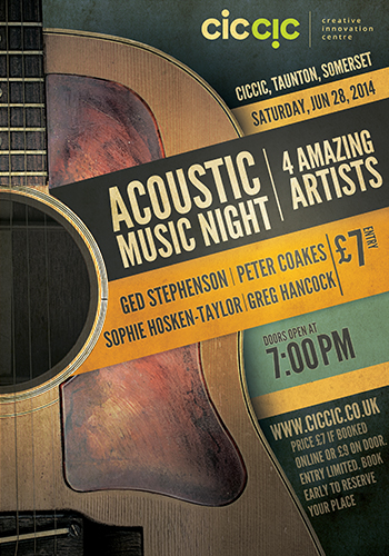 acoustic music night june 28th taunton
