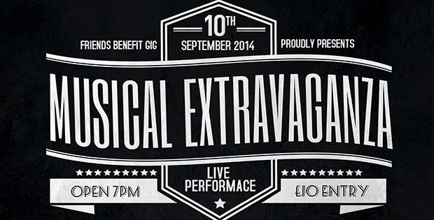 Musical Extravaganza – Friends Benefit Gig
