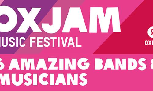 Oxjam Festival – Local Music – Global Impact – Fri 24th Oct