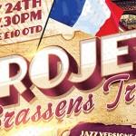 Jazz Night with Projet Brassens Trio – A Night of Jazzy French Music Fri 24th April