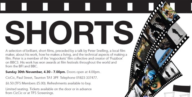 Shorts – A Night of Film Shorts & Talk by Film Maker Peter Snelling