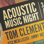 Acoustic Music Night Sat 31st Jan