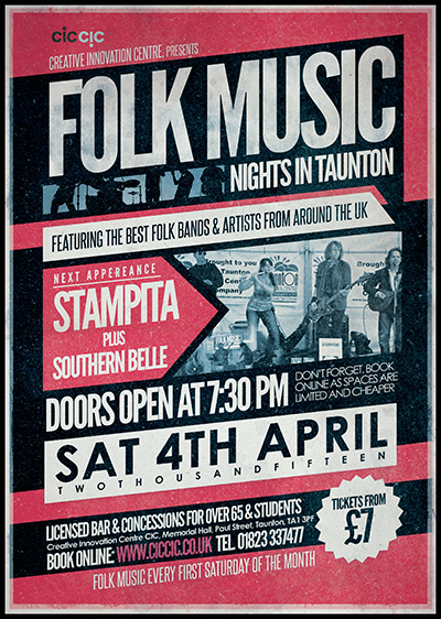 folk music night april 2015 flyer