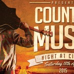 Country Music Night with The All-New Thunderbridge Bluegrass Band Sat 18th April