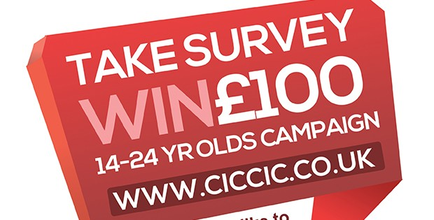A Chance to Win £100 If You Enter Our Survey – Only for 14-24 year Olds