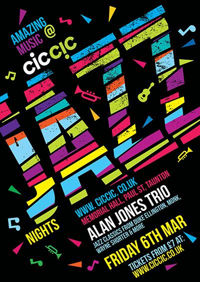 alan jones trio at ciccic jazz nights