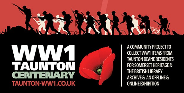 Volunteers Needed for Borough Wide Taunton Deane WW1 Centenary Project