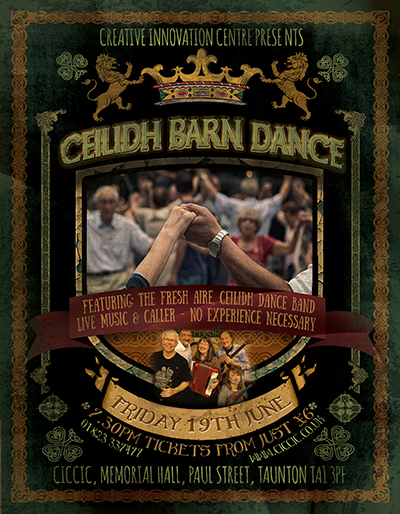 Fresh Aire, Ceilidh Dance Band poster