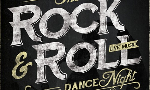 Rock & Roll Dance & Live Music Night Friday 14th August