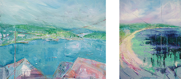 """Coast and Countryside"" – An exhibition by Sally Baldwin and Sara Bor"
