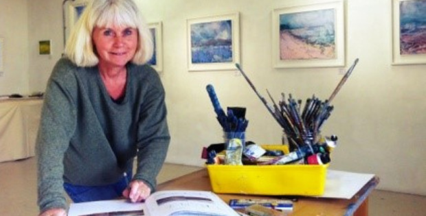 Colour and Texture – A workshop by Sara Bor Saturday 11th July 2015