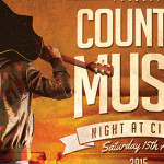 Country Music Night Sat 15th Aug with 3 Amazing Musicians/Song Writers