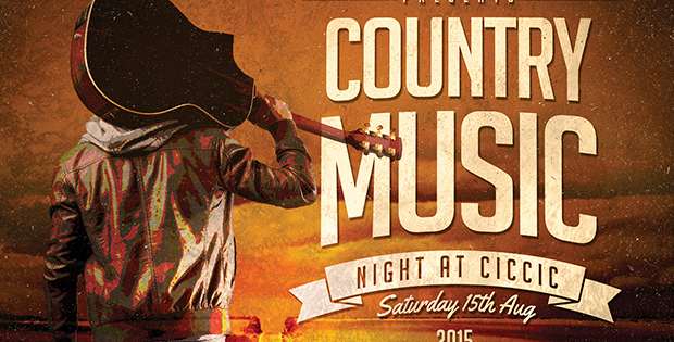 country music night banner