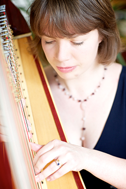sally jenkins classical harpist