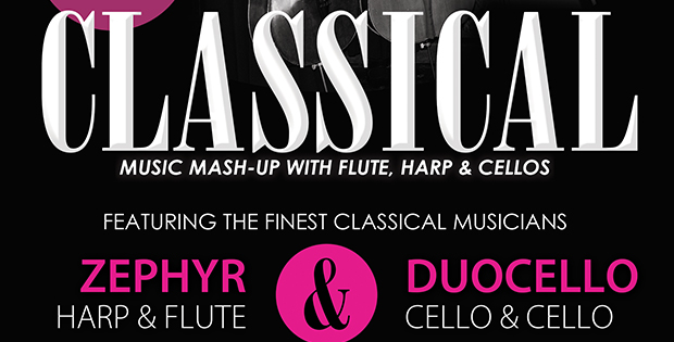 classical music night banner