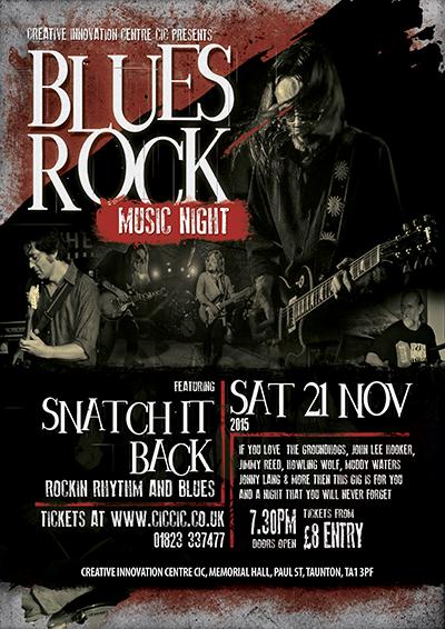 snatch it back blues rock band