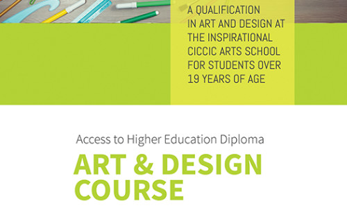 Access to Higher Education Diploma in Art and Design – Jan 2016