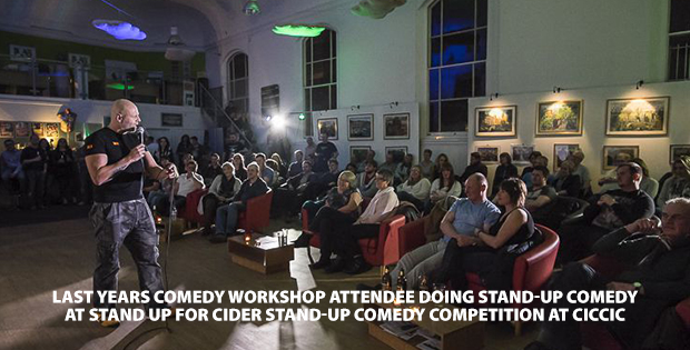 comedy workshop at ciccic taunton