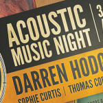 Acoustic Music Night Sat 28th November