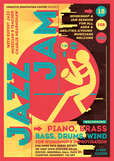 jazz jam poster workshop