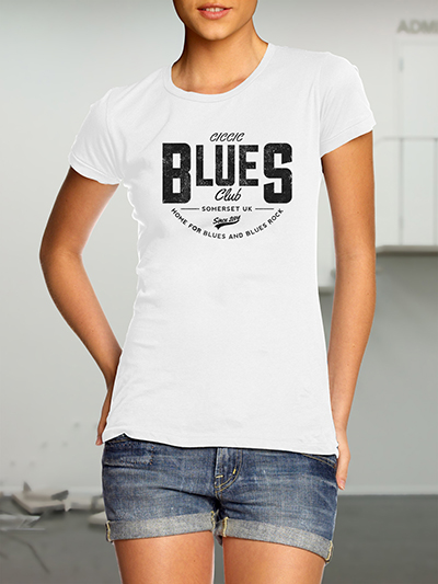 ciccic blues club tshirt for south west somerset blues