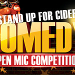 'Stand Up For Cider' Open Mic Comedy Competition & Audience Tickets – 24 June 2016