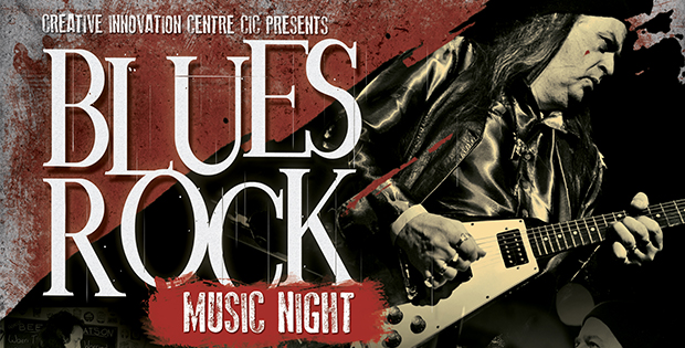 blues rock music night at CICCIC Blues Club Taunton