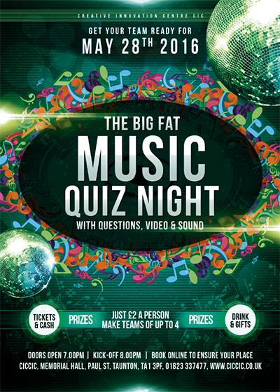 music quiz night at ciccic taunton