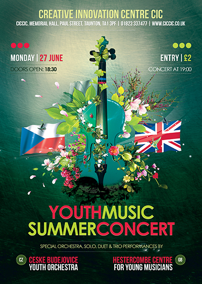 Youth Music Concert at CICCIC Taunton