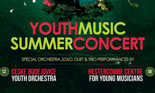 Youth Music Summer Concert Featuring Ceske Budejovice Youth Orchestra and Hestercombe Centre for Young  Musicians – Mon 27 June