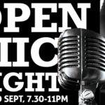 Open Mic Night – A Place for New Performance & Music – Fri 2nd Sept