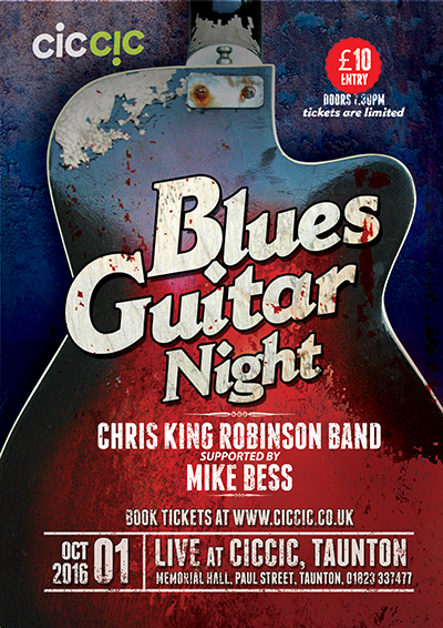 Blues night with Chris King Robinson