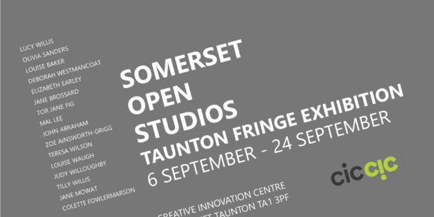 Somerset Open Studios, Taunton Fringe Exhibition 6 – 24 SEPT