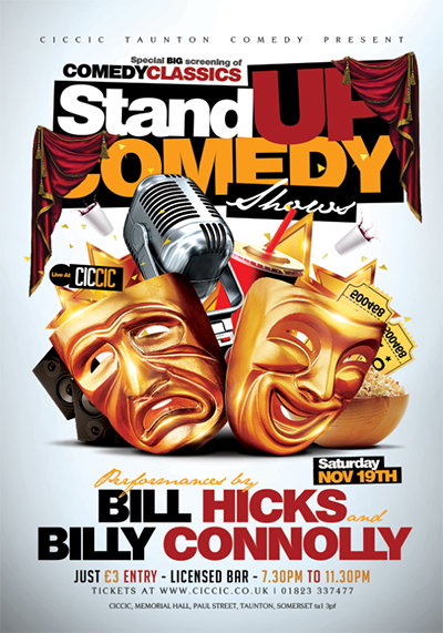 comedy classics with standup comedy screenings at ciccic taunton