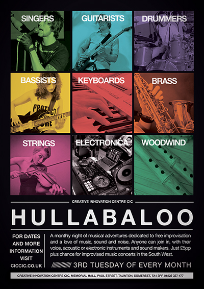 Hullabaloo improvisation music workshops