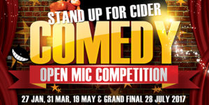 standup comedy competition ciccic taunton 2017
