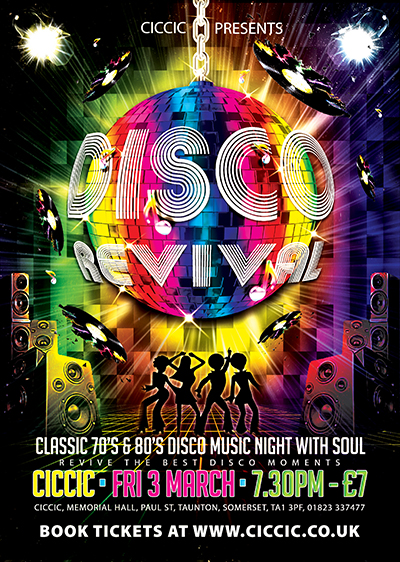 70's and 80's disco night taunton