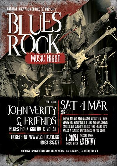 john verity at ciccic blues rock night taunton