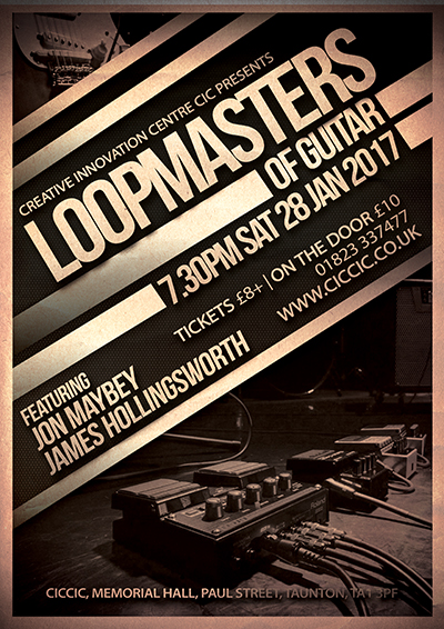 loopmasters of guitar poster