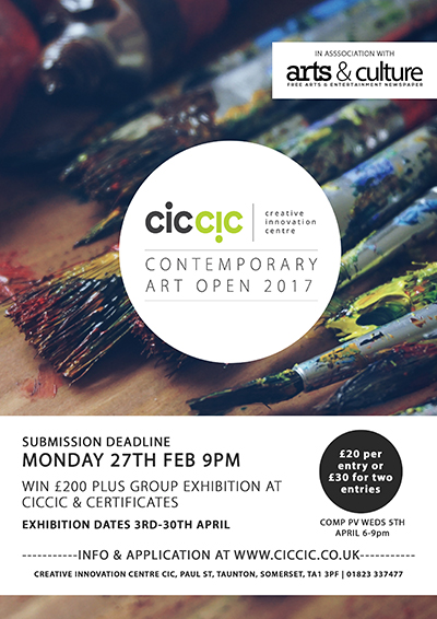 ciccic contemporary art open 2017 poster