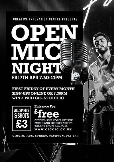CICCIC open mic night taunton