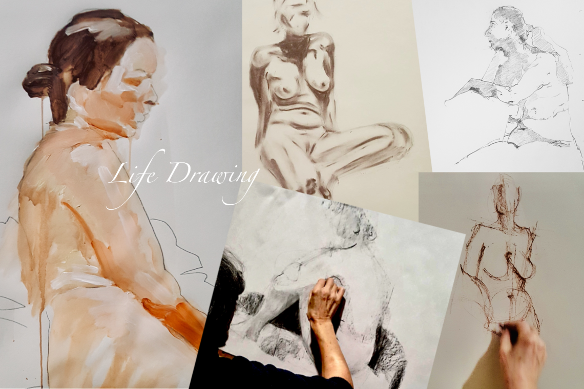 Friday Afternoon Life Drawing Class – Fri 5th April to 21st June 2019
